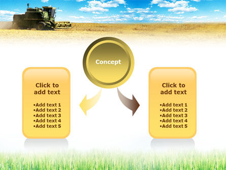 Harvester in the Field PowerPoint Template Slide 4