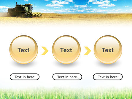 Harvester in the Field PowerPoint Template Slide 5