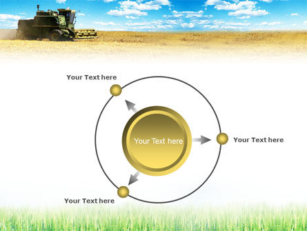 Harvester in the Field PowerPoint Template Slide 7