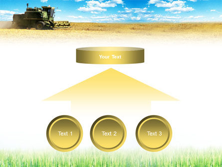 Harvester in the Field PowerPoint Template Slide 8