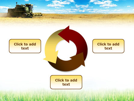 Harvester in the Field PowerPoint Template Slide 9