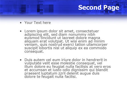 Dark Blue Theme PowerPoint Template Slide 2