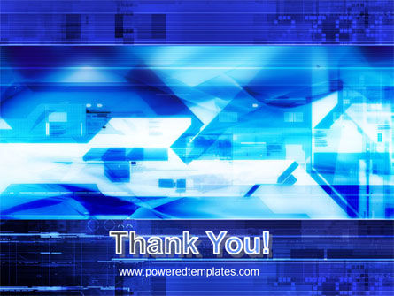 Dark Blue Theme PowerPoint Template Slide 20