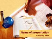 Construction: Planung und bauen PowerPoint Vorlage #01408