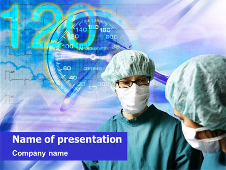 Medical: Templat PowerPoint Operasi #01409