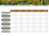 Field of Sunflowers PowerPoint Template#15