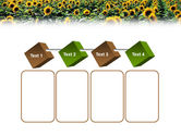 Field of Sunflowers PowerPoint Template#18
