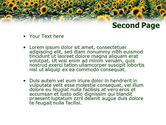 Field of Sunflowers PowerPoint Template#2