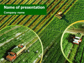 Agriculture: Harvesting PowerPoint Template #01412