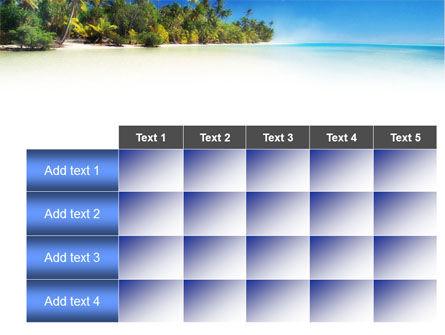 Tropical Beach PowerPoint Template Slide 15