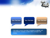 Military Helicopter Forces PowerPoint Template#9
