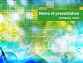 Abstract/Textures: Green Informational Abstract PowerPoint Template #01416