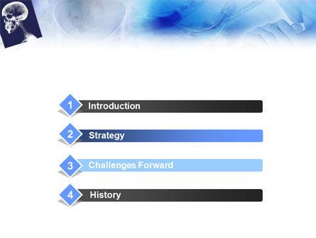 Head Trauma PowerPoint Template, Slide 3, 01418, Medical — PoweredTemplate.com