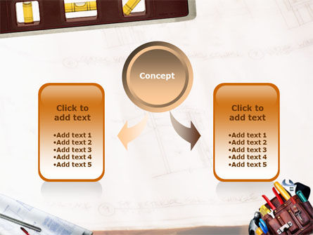 Tools Belt PowerPoint Template, Slide 4, 01420, Utilities/Industrial — PoweredTemplate.com
