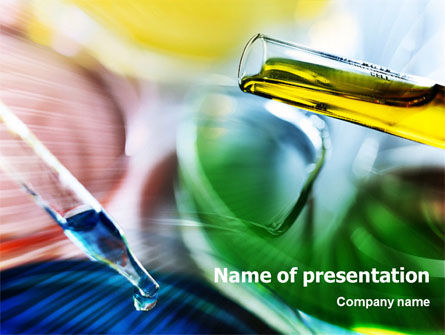 Laboratory PowerPoint Template, 01421, Technology and Science — PoweredTemplate.com