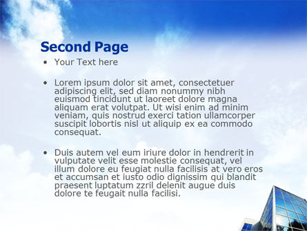 Buildings & Sky PowerPoint Template Slide 2