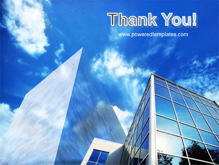 Buildings & Sky PowerPoint Template Slide 20