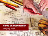 Careers/Industry: Building Planning PowerPoint Template #01426