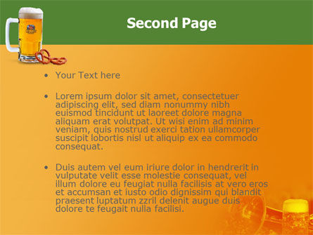 Bavarian Beer Festival PowerPoint Template Slide 2