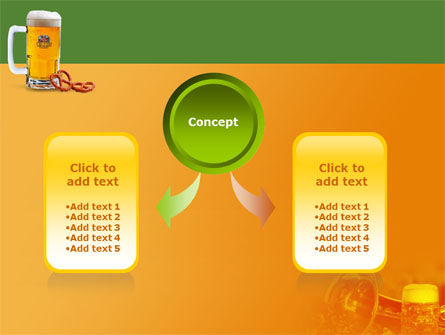 Bavarian Beer Festival PowerPoint Template, Slide 4, 01430, Holiday/Special Occasion — PoweredTemplate.com