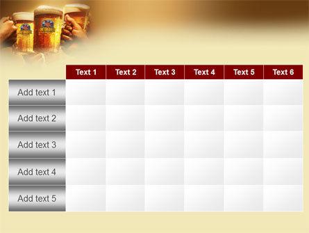 Beer Festivities PowerPoint Template Slide 15