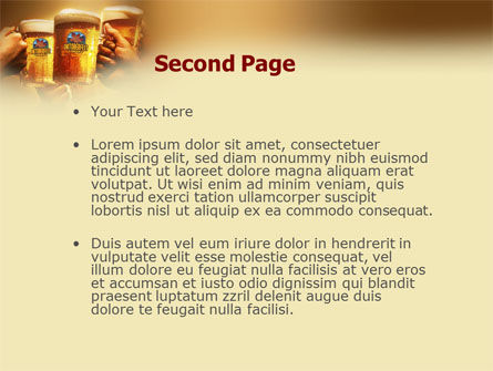 Beer Festivities PowerPoint Template, Slide 2, 01431, Holiday/Special Occasion — PoweredTemplate.com