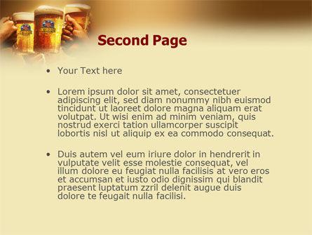 Beer Festivities PowerPoint Template Slide 2