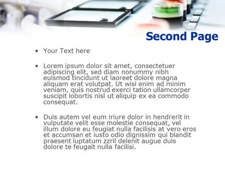 Electric Power Transmission Lines PowerPoint Template, Slide 2, 01440, Technology and Science — PoweredTemplate.com