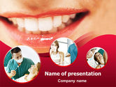 Medical: Dental PowerPoint Template #01441