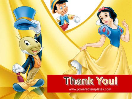 Disney Cartoon PowerPoint Template Slide 20