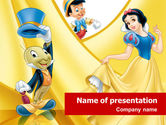 Art & Entertainment: Disney Cartoon PowerPoint Template #01443