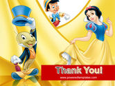 Disney Cartoon PowerPoint Template#20