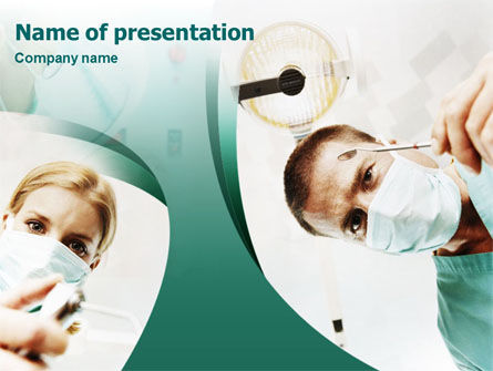 Medical: Stomatology PowerPoint Template #01444