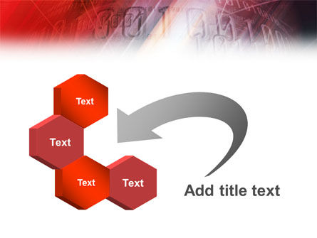Bright Red PowerPoint Template Slide 11