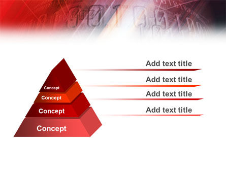 Bright Red PowerPoint Template Slide 12