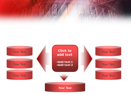 Bright Red PowerPoint Template Slide 13