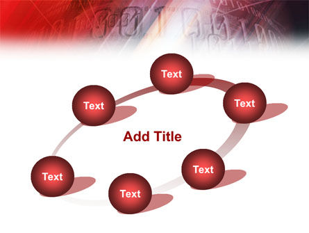 Bright Red PowerPoint Template Slide 14