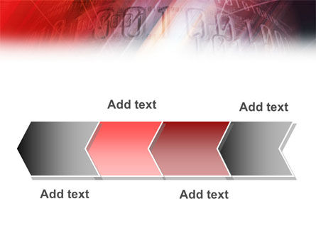 Bright Red PowerPoint Template Slide 16