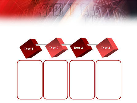 Bright Red PowerPoint Template Slide 18