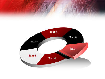 Bright Red PowerPoint Template Slide 19