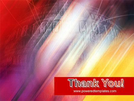 Bright Red PowerPoint Template Slide 20