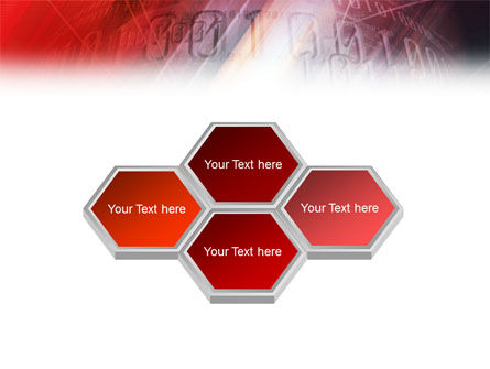Bright Red PowerPoint Template, Slide 4, 01445, Abstract/Textures — PoweredTemplate.com
