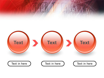 Bright Red PowerPoint Template Slide 5