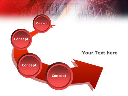 Bright Red PowerPoint Template Slide 6