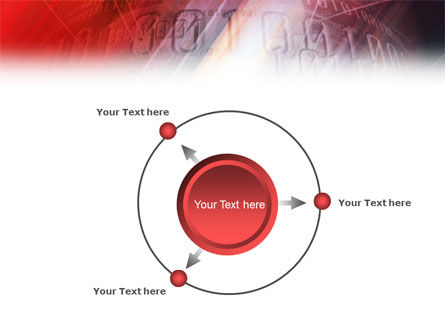 Bright Red PowerPoint Template Slide 7
