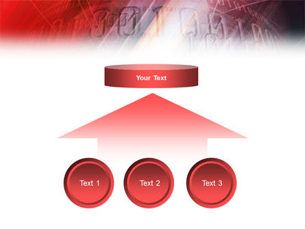 Bright Red PowerPoint Template Slide 8