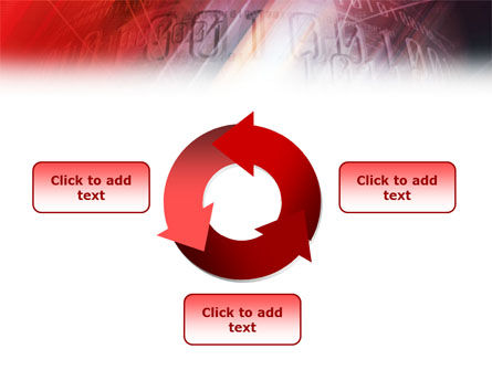 Bright Red PowerPoint Template Slide 9