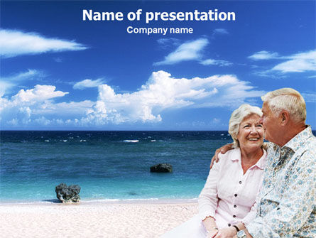 People: Pensioen PowerPoint Template #01446