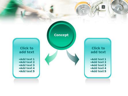 Surgeons Before Surgery PowerPoint Template, Slide 4, 01448, Medical — PoweredTemplate.com