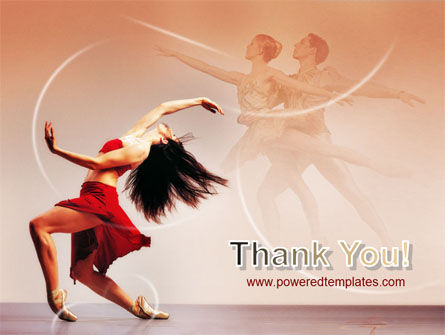 Ballet Dance PowerPoint Template Slide 20